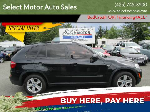 2012 BMW X5 for sale at Select Motor Auto Sales in Lynnwood WA