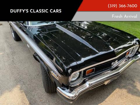 1973 Chevrolet Nova for sale at Duffy's Classic Cars in Cedar Rapids IA