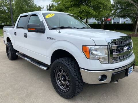 2014 Ford F-150 for sale at UNITED AUTO WHOLESALERS LLC in Portsmouth VA