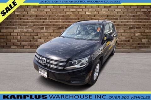 2016 Volkswagen Tiguan for sale at Karplus Warehouse in Pacoima CA