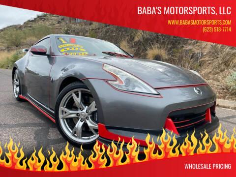 2012 Nissan 370Z for sale at Baba's Motorsports, LLC in Phoenix AZ