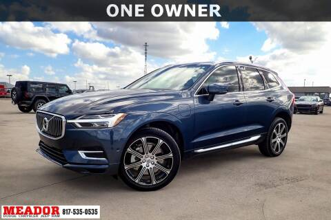 2019 Volvo XC60 for sale at Meador Dodge Chrysler Jeep RAM in Fort Worth TX