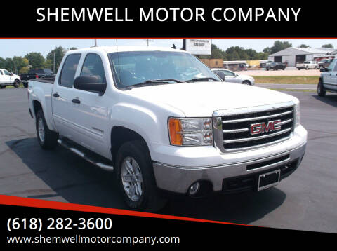 2012 GMC Sierra 1500 for sale at SHEMWELL MOTOR COMPANY in Red Bud IL