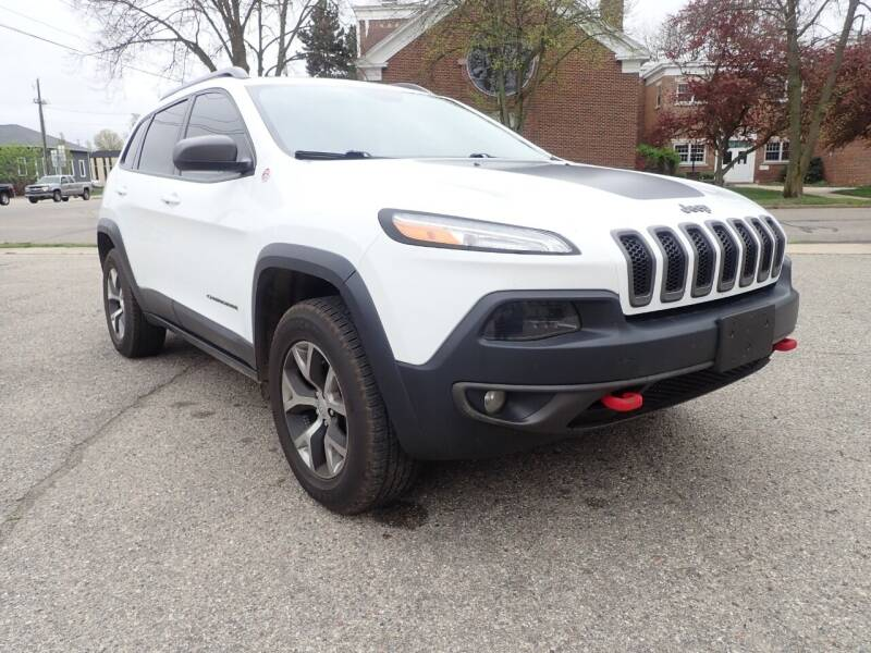 2014 Jeep Cherokee for sale at Marvel Automotive Inc. in Big Rapids MI