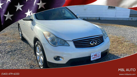 2010 Infiniti EX35 for sale at MBL Auto Woodford in Woodford VA