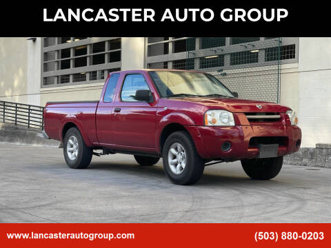 2002 Nissan Frontier for sale at LANCASTER AUTO GROUP in Portland OR