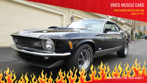 1970 Ford Mustang for sale at Erics Muscle Cars in Clarksburg MD