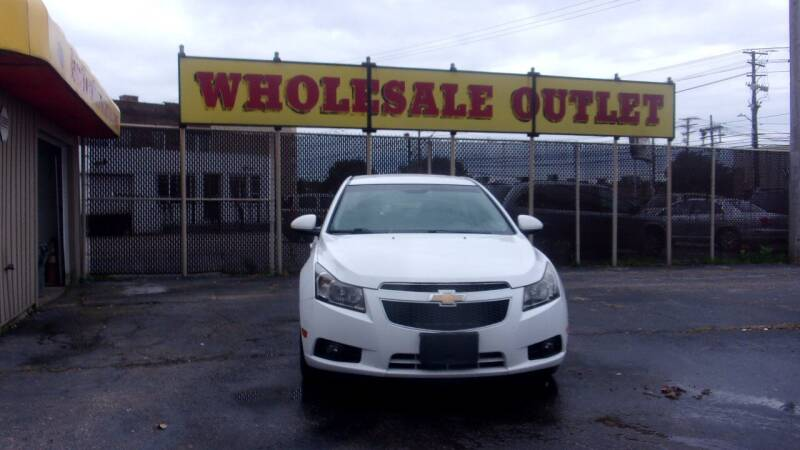 2011 Chevrolet Cruze for sale at LONG BROTHERS CAR COMPANY in Cleveland OH