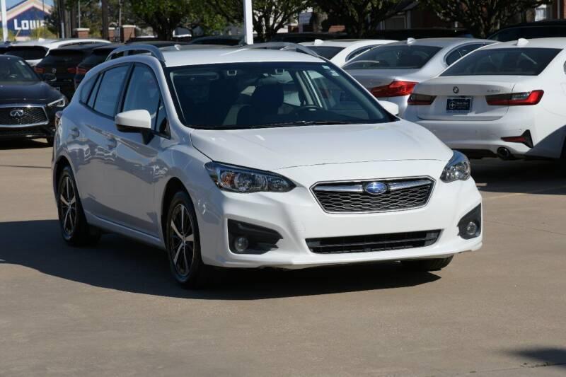 2019 Subaru Impreza for sale at Silver Star Motorcars in Dallas TX