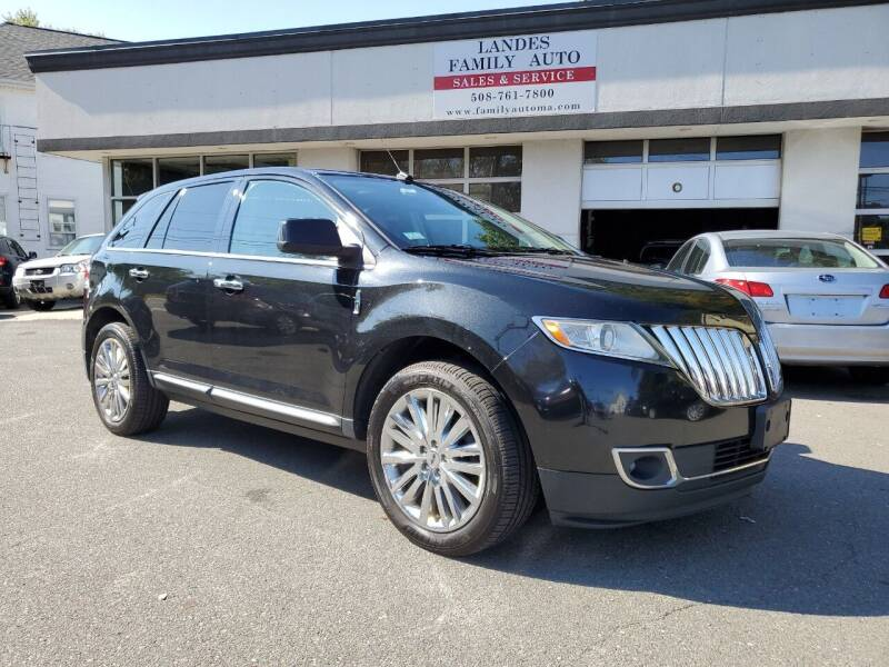 2011 Lincoln MKX for sale at Landes Family Auto Sales in Attleboro MA