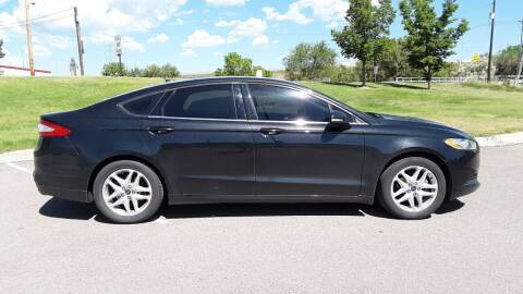 2013 Ford Fusion for sale at Macks Auto Sales LLC in Arvada CO