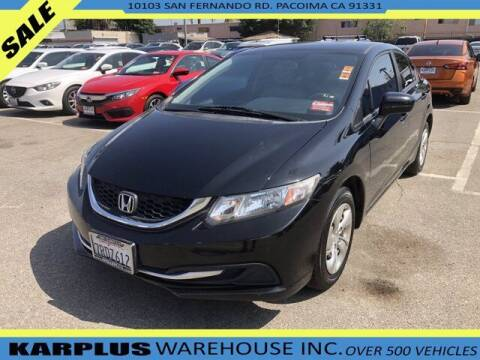 2015 Honda Civic for sale at Karplus Warehouse in Pacoima CA