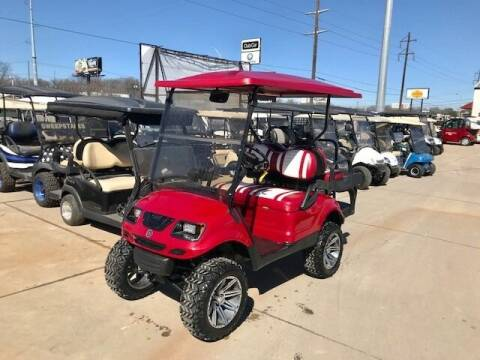 2014 Yamaha 4 Passenger Lift EFI Gas Drive for sale at METRO GOLF CARS INC in Fort Worth TX