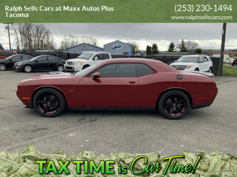 2016 Dodge Challenger for sale at Ralph Sells Cars at Maxx Autos Plus Tacoma in Tacoma WA