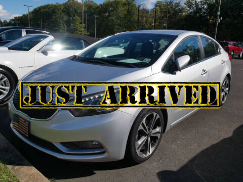 2016 Kia Forte for sale at BRYNER CHEVROLET in Jenkintown PA