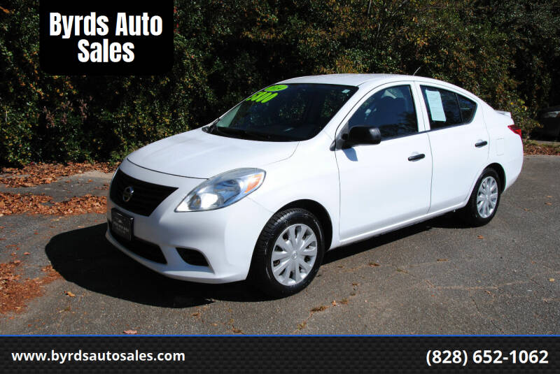 2014 Nissan Versa for sale at Byrds Auto Sales in Marion NC