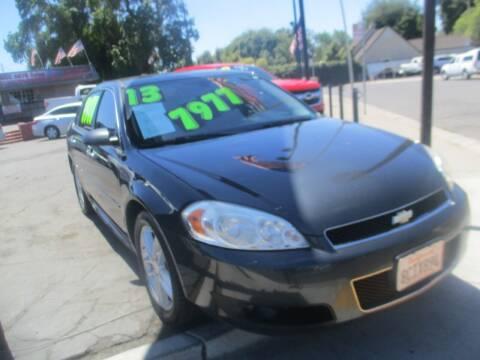 2013 Chevrolet Impala for sale at Quick Auto Sales in Modesto CA