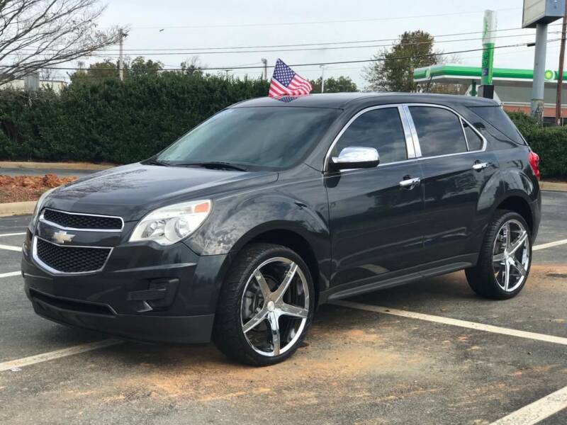 2014 Chevrolet Equinox for sale at RUSH AUTO SALES in Burlington NC