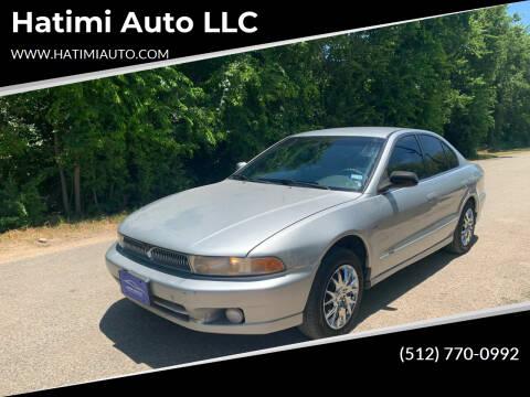 2000 Mitsubishi Galant for sale at Hatimi Auto LLC in Buda TX