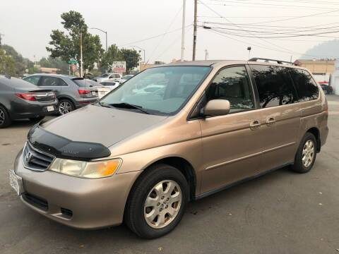 2003 Honda Odyssey for sale at EKE Motorsports Inc. in El Cerrito CA