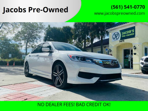 2017 Honda Accord for sale at Jacobs Pre-Owned in Lake Worth FL
