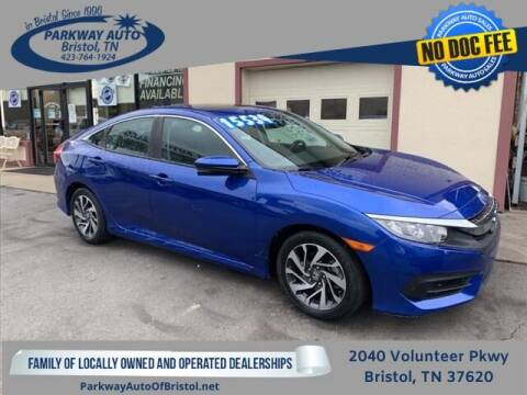 2017 Honda Civic for sale at PARKWAY AUTO SALES OF BRISTOL in Bristol TN