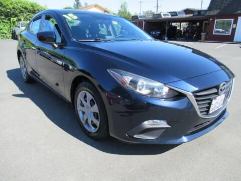 2015 Mazda MAZDA3 for sale at Tonys Toys and Trucks in Santa Rosa CA