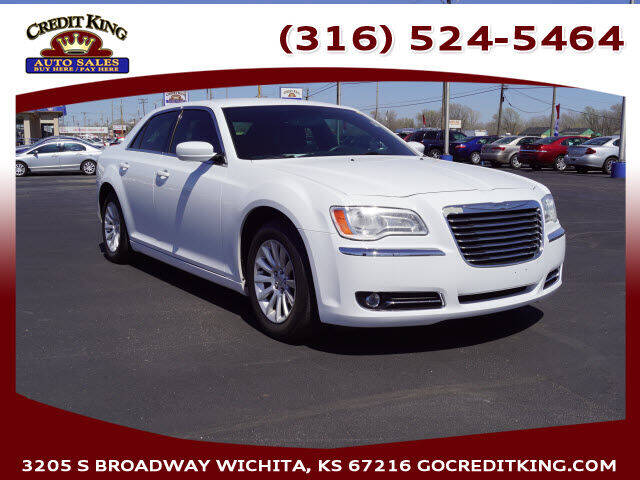 2013 Chrysler 300 for sale at Credit King Auto Sales in Wichita KS