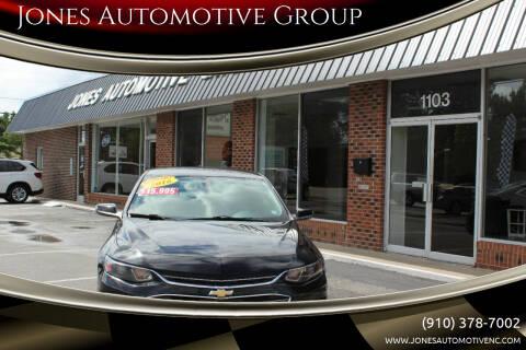 2016 Chevrolet Malibu for sale at Jones Automotive Group in Jacksonville NC