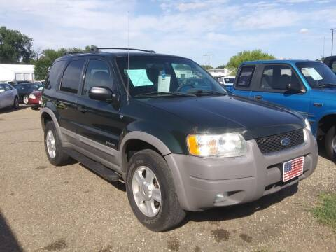 2002 Ford Escape for sale at L & J Motors in Mandan ND