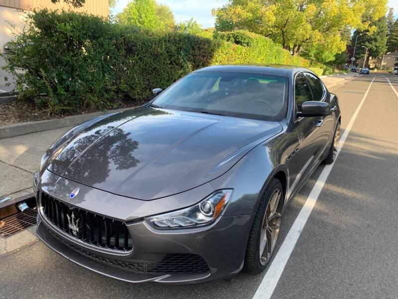 2016 Maserati Ghibli for sale at LG Auto Sales in Rancho Cordova CA