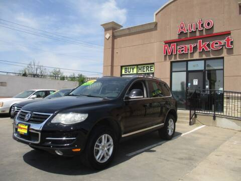 2008 Volkswagen Touareg 2 for sale at Auto Market in Oklahoma City OK