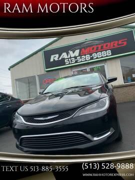2016 Chrysler 200 for sale at RAM MOTORS in Cincinnati OH