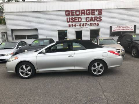 2005 Toyota Camry Solara for sale at George's Used Cars Inc in Orbisonia PA