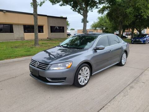 2012 Volkswagen Passat for sale at Image Auto Sales in Dallas TX