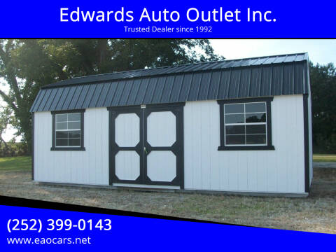 2020 Old Hickory Buildings 12x24 Lofted Barn for sale at Edwards Auto Outlet Inc. in Wilson NC