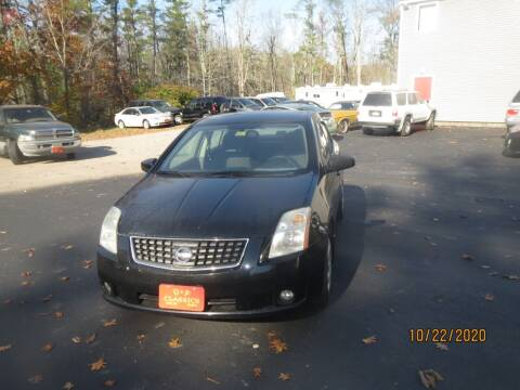 2008 Nissan Sentra for sale at D & F Classics in Eliot ME