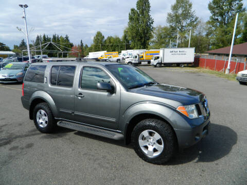 2007 Nissan Pathfinder for sale at J & R Motorsports in Lynnwood WA