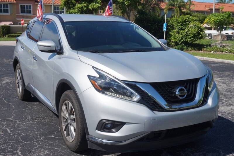 2018 Nissan Murano for sale at SUPER DEAL MOTORS 441 in Hollywood FL