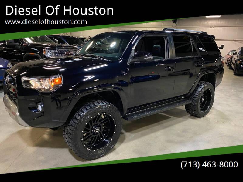 2018 Toyota 4Runner for sale at Diesel Of Houston in Houston TX