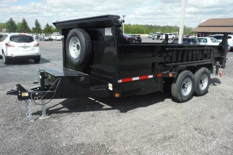 2022 Quality Steel 14 FT DUMP 14K for sale at Bryan Auto Depot in Bryan OH