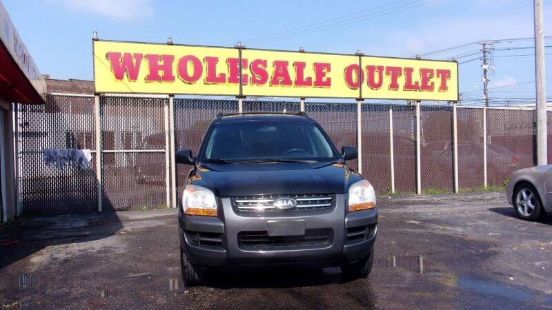 2008 Kia Sportage for sale at LONG BROTHERS CAR COMPANY in Cleveland OH