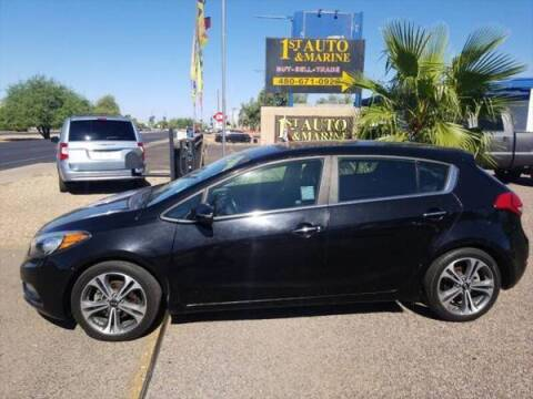 2016 Kia Forte5 for sale at 1ST AUTO & MARINE in Apache Junction AZ