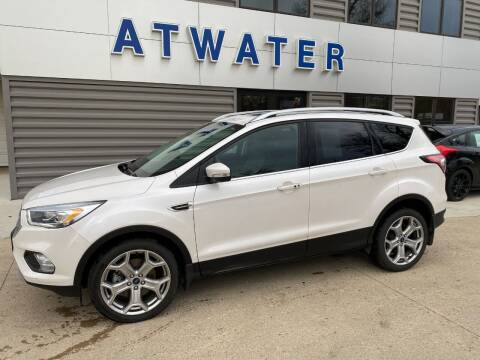 2017 Ford Escape for sale at Atwater Ford Inc in Atwater MN