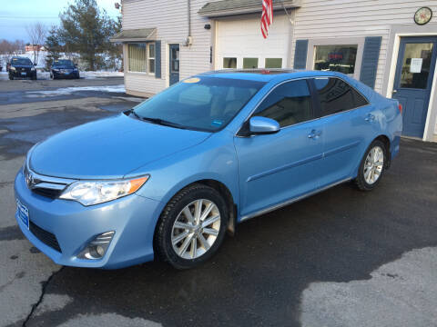 2013 Toyota Camry for sale at CLARKS AUTO SALES INC in Houlton ME