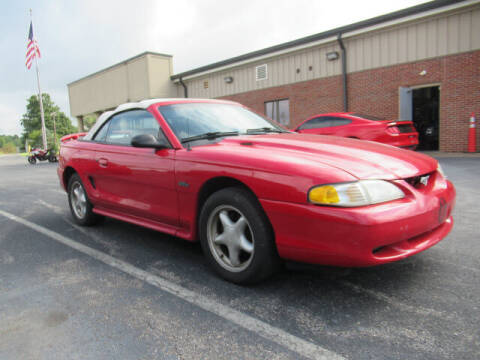 1998 Ford Mustang for sale at TAPP MOTORS INC in Owensboro KY