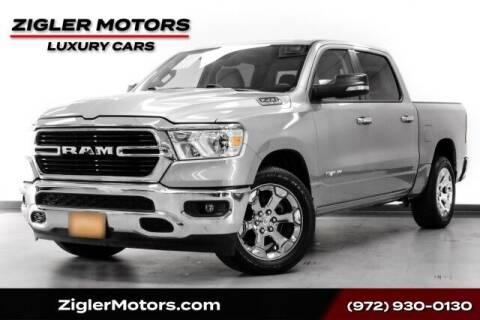2020 RAM Ram Pickup 1500 for sale at Zigler Motors in Addison TX