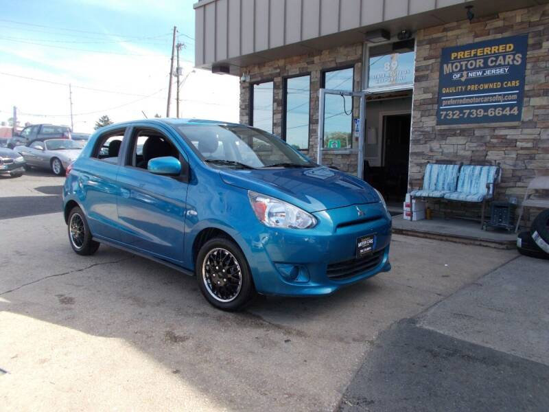 2015 Mitsubishi Mirage for sale at Preferred Motor Cars of New Jersey in Keyport NJ