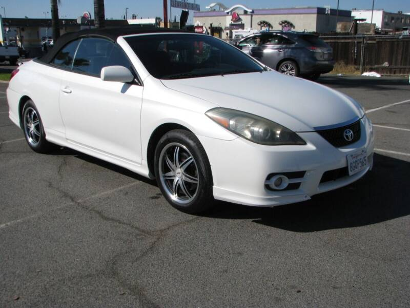2008 Toyota Camry Solara for sale at M&N Auto Service & Sales in El Cajon CA