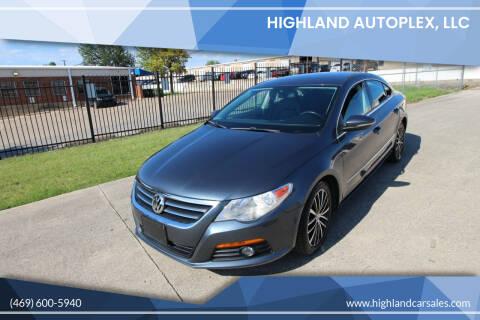 2010 Volkswagen CC for sale at Highland Autoplex, LLC in Dallas TX